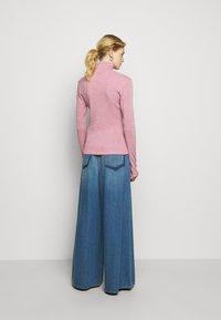 MM6 Maison Margiela - Long sleeved top - pink - 2