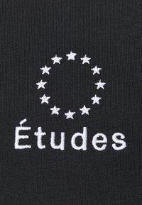 Études - LOGO UNISEX - T-shirt con stampa - black - 6