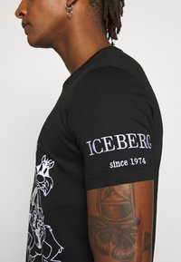 Iceberg - T-shirt imprimé - black - 3