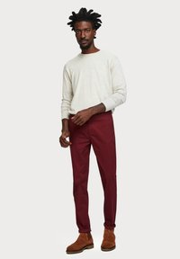 Scotch & Soda - MOTT CLASSIC SLIM FIT - Chino - bordeaux - 1