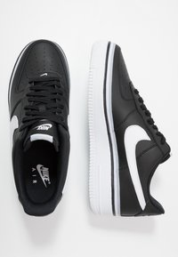 Nike Sportswear - AIR FORCE 1 '07 LV8  - Sneakers - black/white/wolf grey - 1
