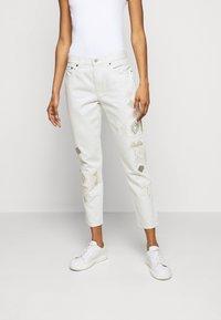 Polo Ralph Lauren - DANVERS  - Straight leg jeans - beaded ivory - 0