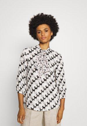 Bluse - white/black