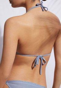 Calzedonia - Bikini top - lilla shine - 1