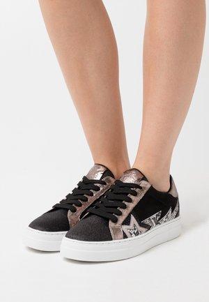 Zapatillas - glitter/nero