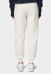 TOM TAILOR DENIM - Trainingsbroek - gardenia white - 2
