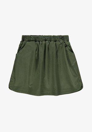 A-line skirt - dark khaki