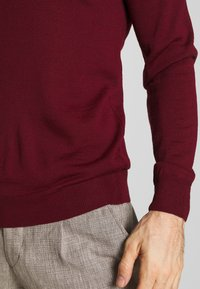 Casual Friday - Jumper - wine red - 5