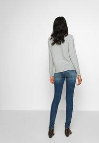 G-Star - LHANA HIGH SUPER SKINNY - Jeans Skinny Fit - blue denim - 2