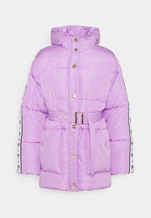 TAPE LOGOMANIA OUTWEAR - Winter jacket - violet