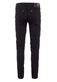 Cipo & Baxx - CASUAL SUMMER MIT REISSVERSCHLUSS - Slim fit jeans - black - 3