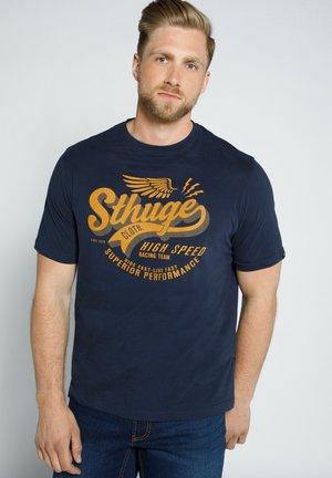 T-shirt print - dunkel marine