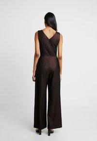 Closet - TIE FRONT - Tuta jumpsuit - rose gold - 2