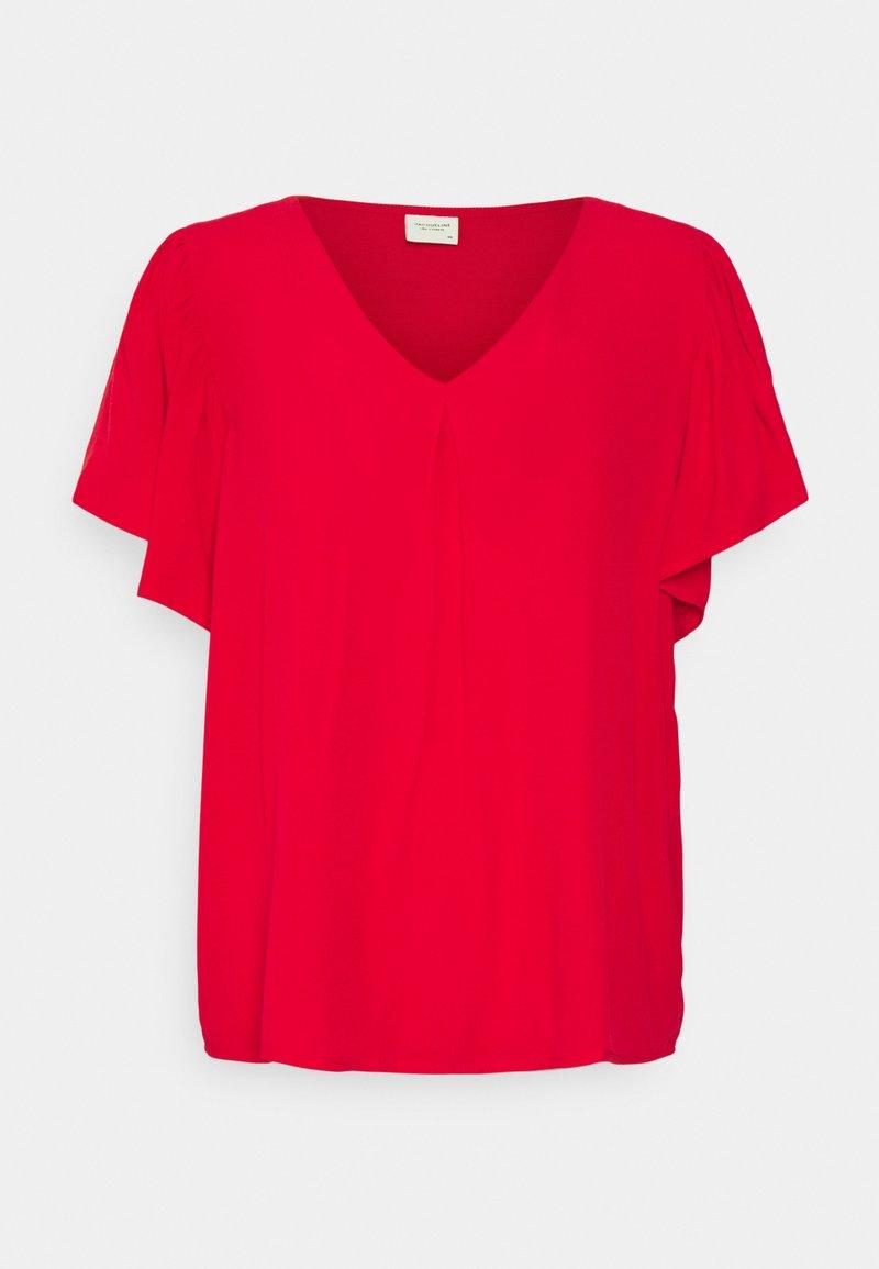 JDY - JDYLEA  - T-shirts - mars red