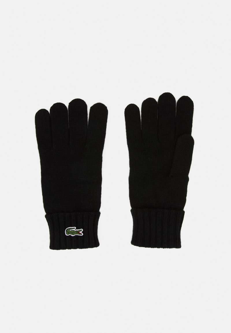 Lacoste - UNISEX - Gloves - black