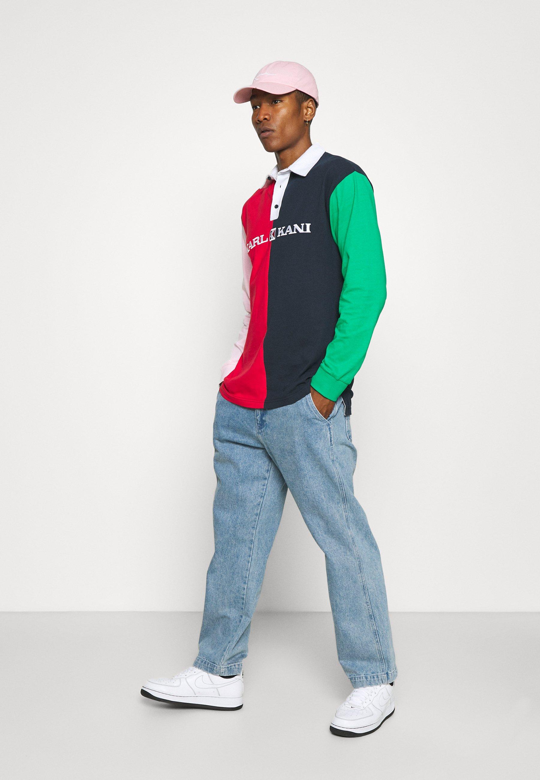 Women UNISEX RETRO BLOCK RUGBY SHIRT UNISEX - Polo shirt