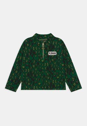 LEOPARD HALFZIP UNISEX - Sweater - green