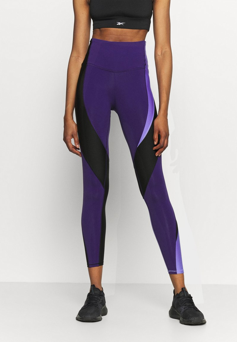 Reebok - LUX - Leggings - purple