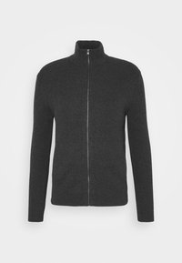 FULL ZIP - Cardigan - dark charcoal