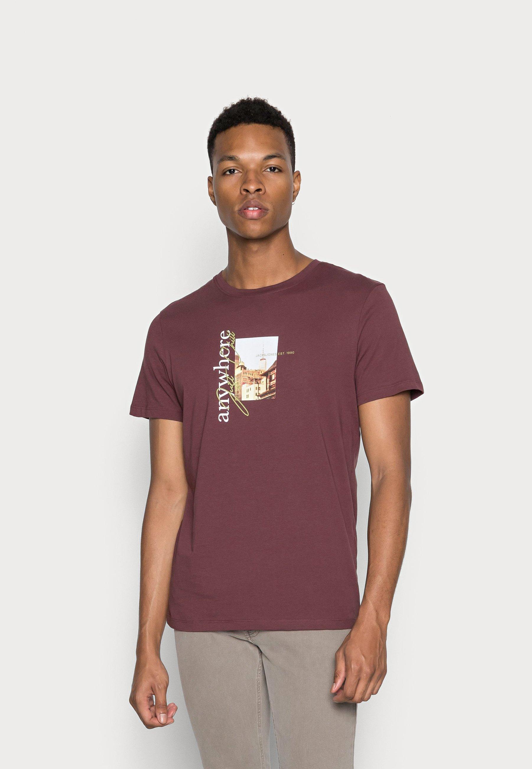 Herren JORWHERE PHOTO TEE CREW NECK - T-Shirt print