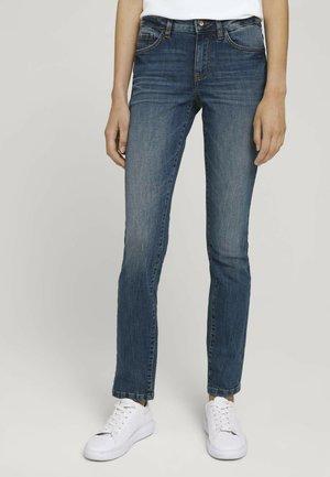 ALEXA SLIM JEANS - Slim fit jeans - stone wash denim