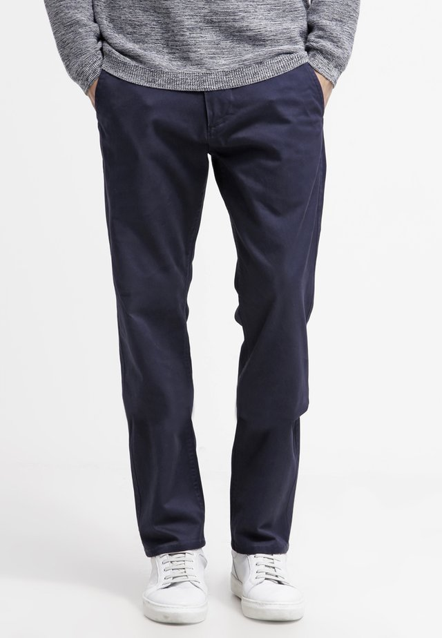 ALPHA ORIGINAL - Trousers - dark blue