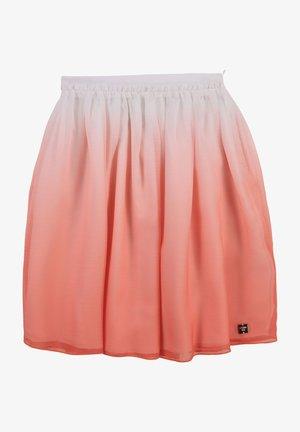 A-line skirt - blanc corail
