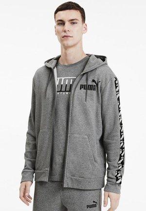 AMPLIFIED  - Hoodie met rits - medium gray heather