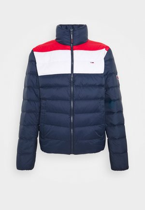 COLORBLOCK LIGHT JACKET - Untuvatakki - twilight navy