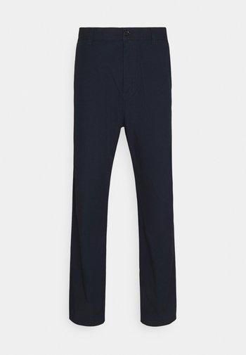 MENSON PANT MOSQUERO - Chino kalhoty - dark navy rinsed