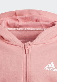 adidas Performance - 3-STRIPES FULL-ZIP HOODIE - Sudadera con cremallera - pink - 2