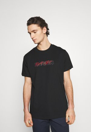NASPIRIT - Print T-shirt - black