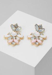 Pieces - PCJARLO EARRINGS - Earrings - gold coloured/clear/pastel - 0