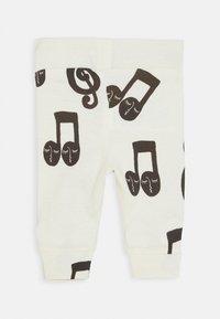 Mini Rodini - BABY NOTES UNISEX - Leggings - Trousers - offwhite - 0