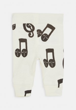 BABY NOTES UNISEX - Leggings - Trousers - offwhite
