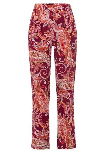 Trousers - dunkelrot