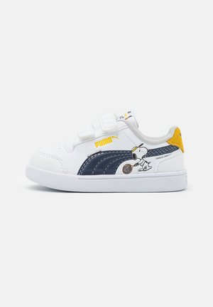 PEANUTS SHUFFLE UNISEX - Sneakers basse - white/black