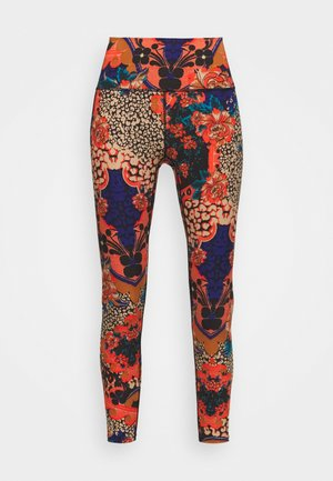 LOSE CONTROL PRINTED  - Tights - multicolor