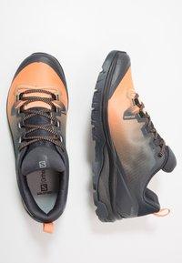 Salomon - VAYA GTX - Hiking shoes - ebony/cantaloupe/black - 1