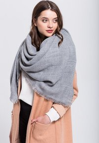Anna Field - Halsdoek - grey - 0