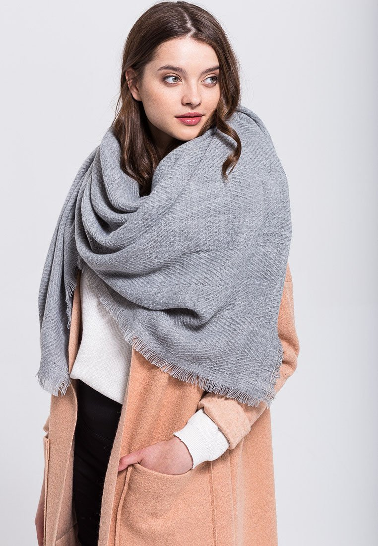 Anna Field - Scarf - grey