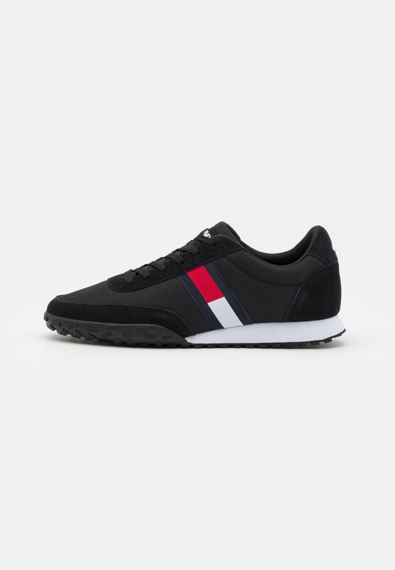 Tommy Jeans - PROFILE MIX RUNNER RETRO - Sneakers basse - black