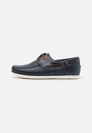 CAPSTAN - Boat shoes - navy