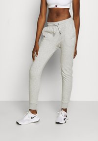 Fila - LAKIN - Tracksuit bottoms - light grey - 0