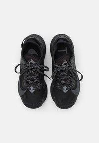 Nike Performance - PEGASUS TRAIL 2 GTX - Trail running shoes - black/iron grey/metallic dark grey - 3