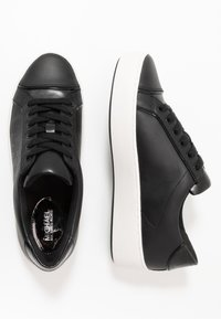 MICHAEL Michael Kors - KIRBY LACE UP - Trainers - black - 3