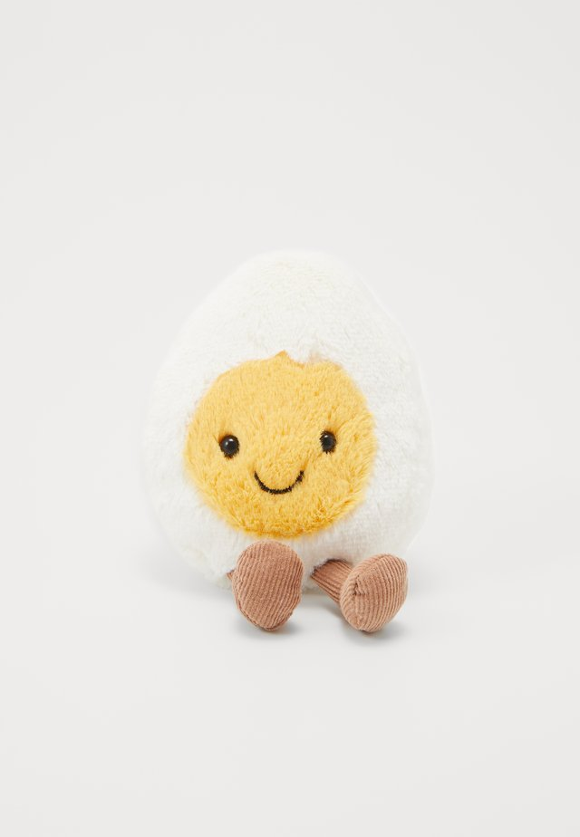 AMUSEABLE BOILED EGG - Cuddly toy - white
