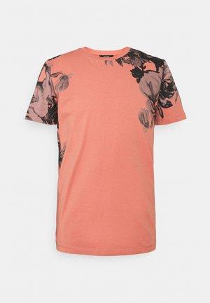 JPRBLALELY TEE CREW NECK - Print T-shirt - canyon rose