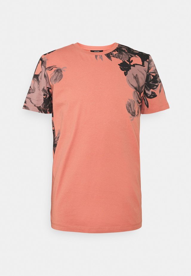 JPRBLALELY TEE CREW NECK - T-shirts med print - canyon rose