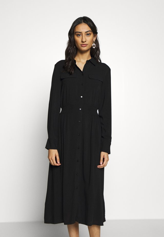 CADDY BEACH DRESS - Abito a camicia - black